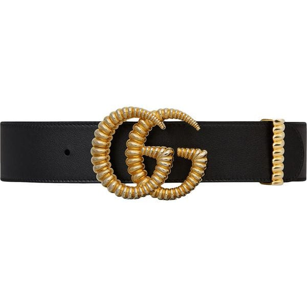 Gucci GG Black Torchon Belt ~ Hire From $89