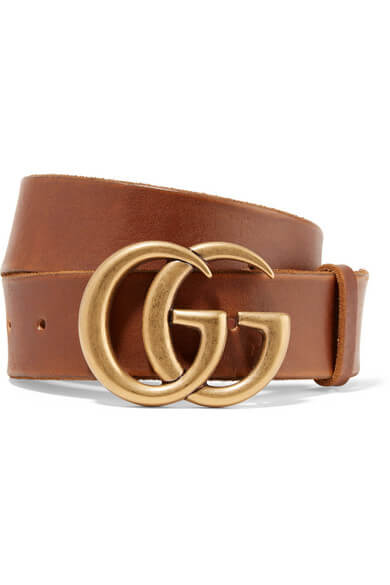 Gucci Brown Leather Belt ~ Hire From $79