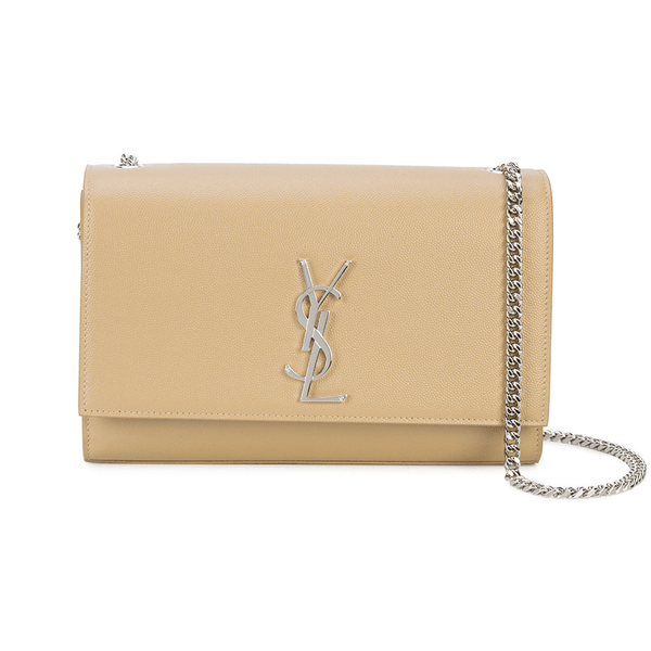 Medium Kate Chain Bag in Powder Textured Leather ~ Hire From $119