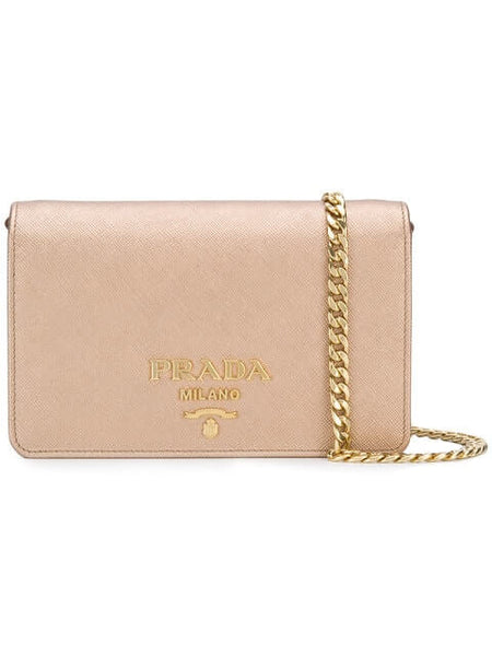 Prada Saffiano Lux Clutch ~ Hire From $99