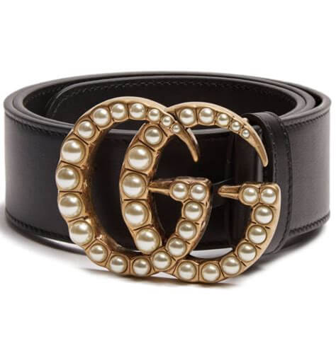 Gucci GG Pearl Belt ~ Hire From  $89