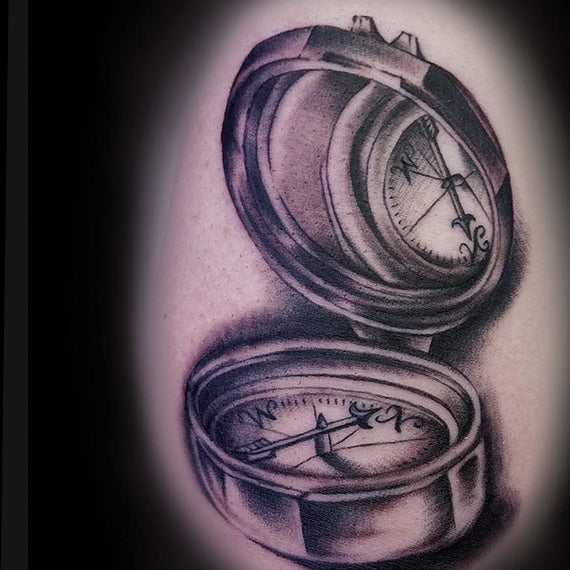 Orion Tattoo Image - Compass