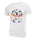 Men's Winged Emblem Couture Tee Blue