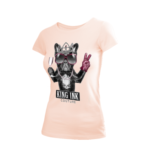 Women's Party Animal Couture Tee