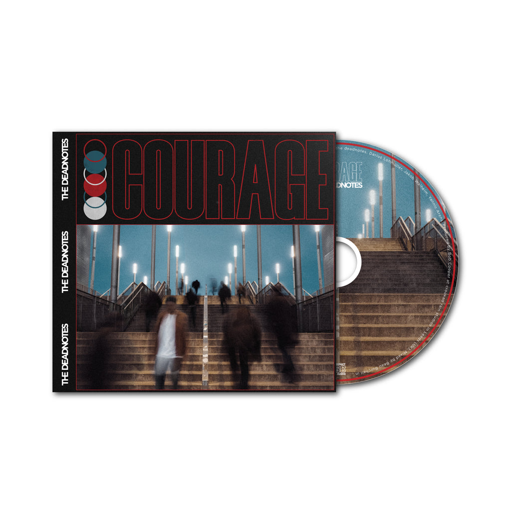 "PRE-ORDER: THE DEADNOTES: CD ""COURAGE"""