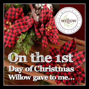 On the 1st Day of Christmas Willow gave to me...