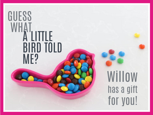 FREE! Pink Nora Fleming Bird Dish with $50 purchase of Nora items!