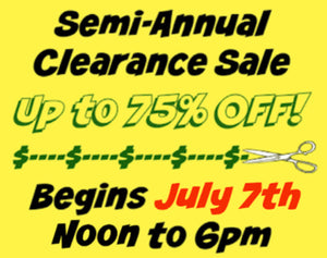 BIGGEST SALE OF THE YEAR Starts Tuesday!