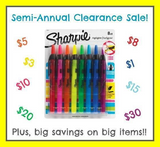 Semi Annual Clearance Sale