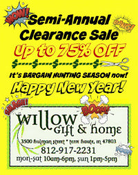 Semi-Annual Clearance Sale AND After Holiday Sale 75% OFF