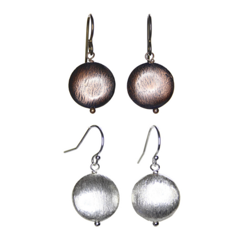 Coined Earrings