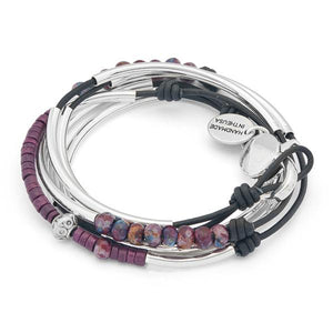 Lizzy James - Connie Leather Wrap Bracelet