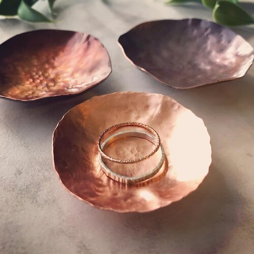 Copper Ring Dish