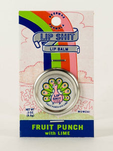 Lip Shit Lip Balm - Fruit PUnch with Lime
