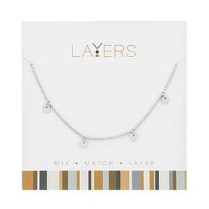 Silver Layers Necklace
