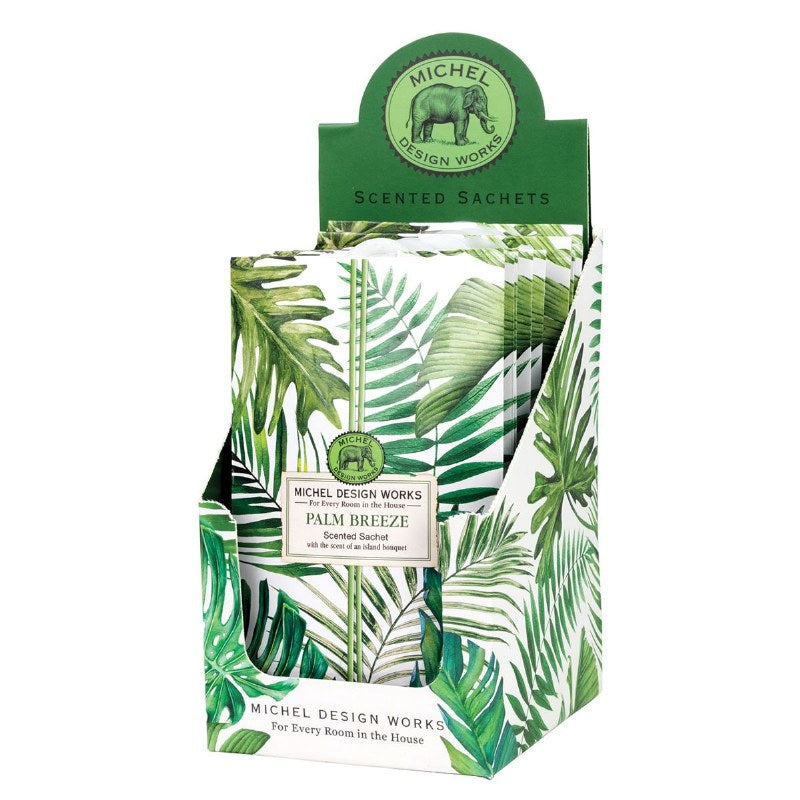 Palm Breeze Scented Sachet