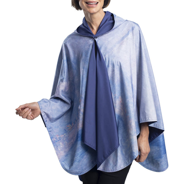 RainCaper Poncho - Monet Waterloo Bridge Design
