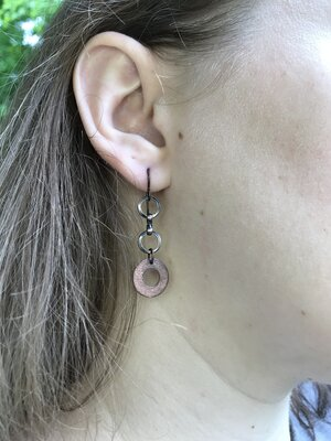Rings Copper Earrings