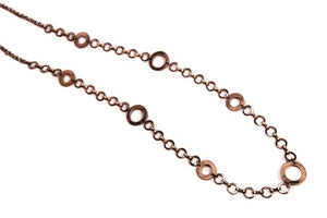 Rings Copper Long Necklace