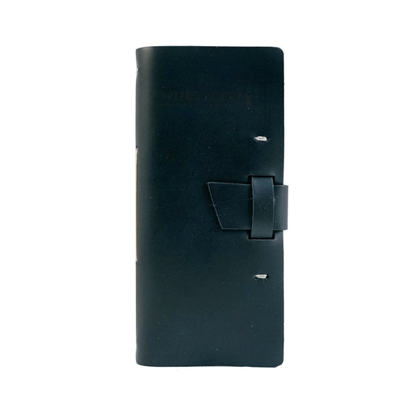 wine lovers log book in black