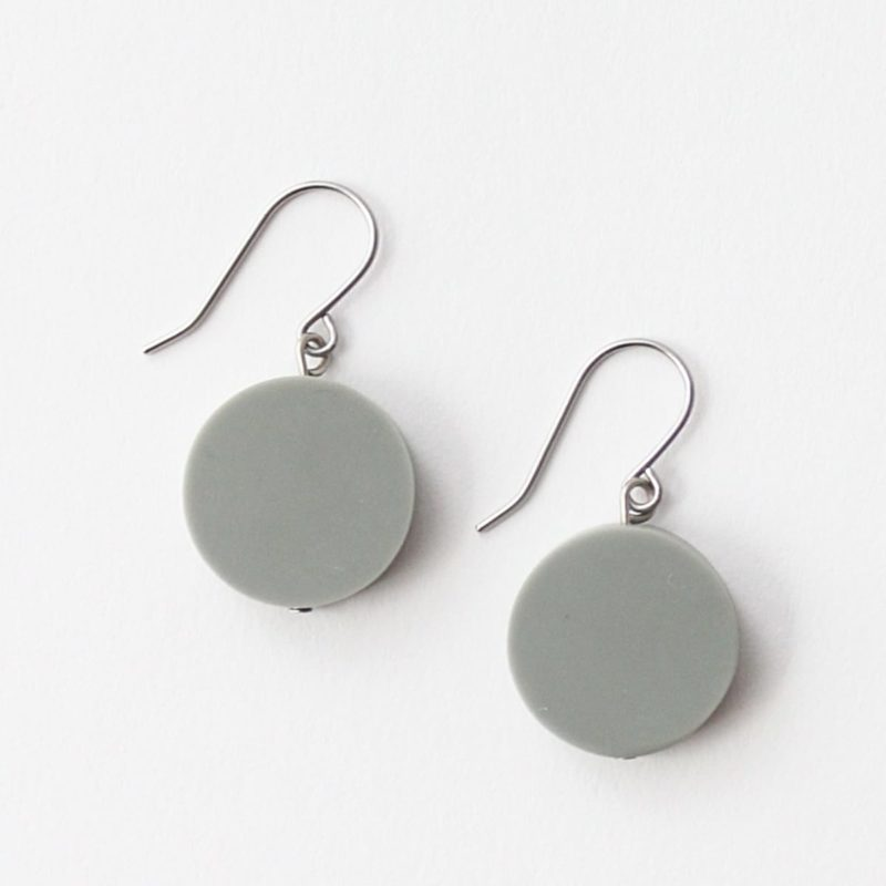 Grey Sophie Earrings by Sylca Designs