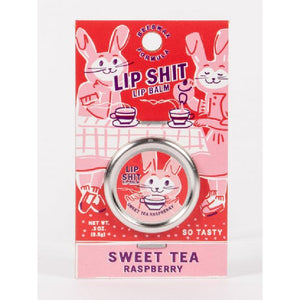 Lip Shit Lip Balm - Sweet Tea Raspberry