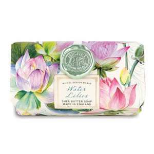 Water Lilies Large Bar Soap