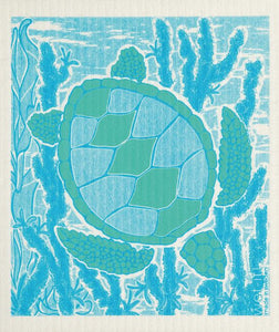 Babs Sea Turtle Wet-It Dish Cloth