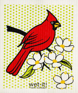 Wet-It Cardinal Dishcloth