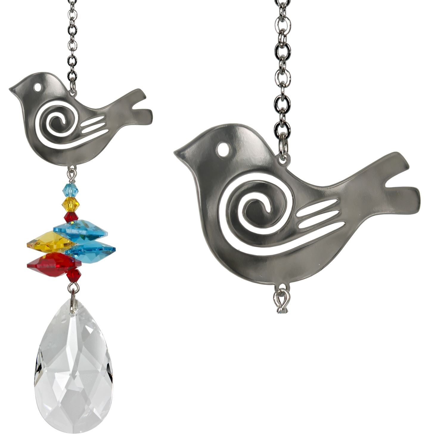 Bird Crystal Fantasy Suncatcher