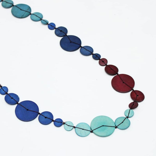 Multicolored Chaplet Necklace