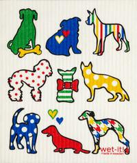 Dog Lovers Dishcloth