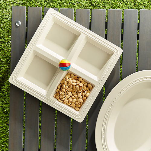 Melamine Sectional Server by Nora Fleming