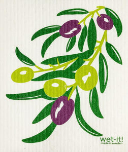 Olive Branch Dishcloth
