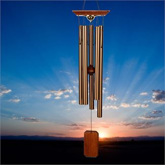 Memorial Wind Chimes with windcatcher
