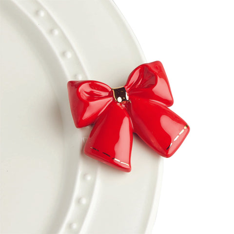 Wrap it up - red bow mini
