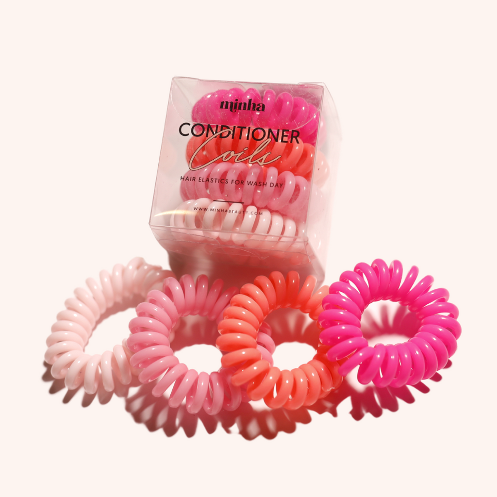 Conditioner Coil Hair Ties - Morango