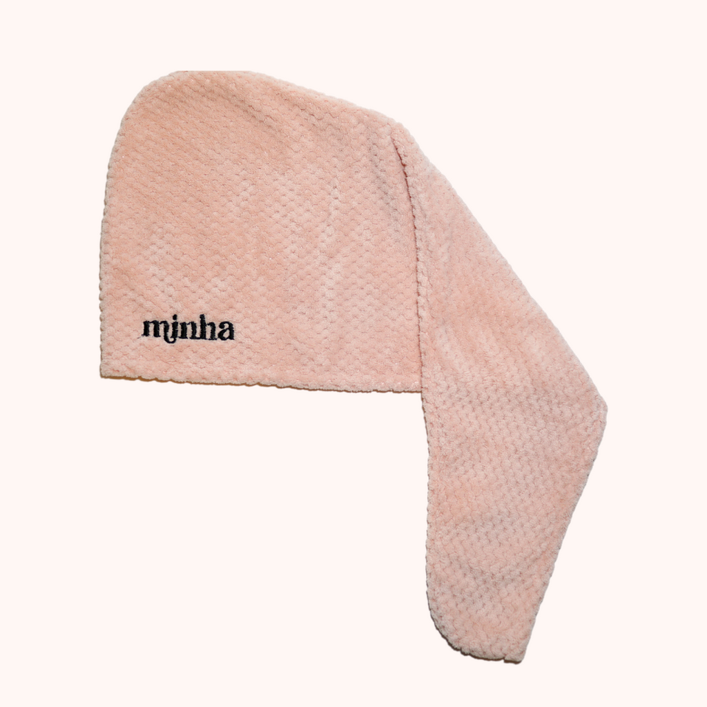 Hair Wrap Towel - Rosa