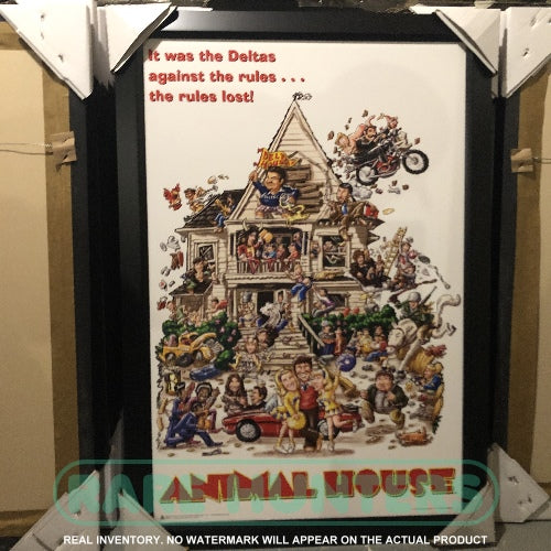 Actual Inventory - Animal House Framed Movie Poster