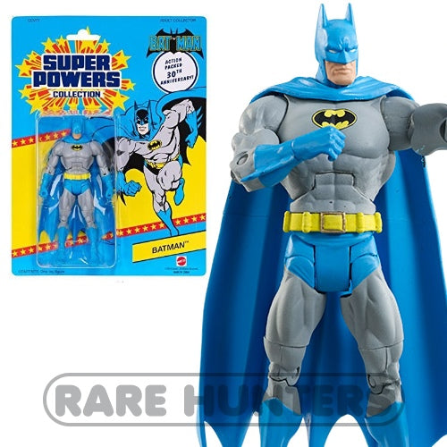 Mattel Matty Super Powers Kenner 30th Batman 6-Inch Figure