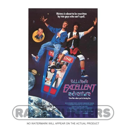 Bill & Ted's Excellent Adventure Framed Movie Poster