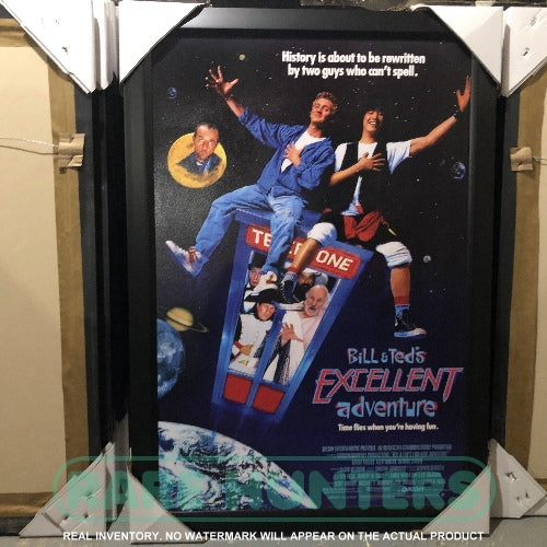 Actual Inventory - Bill & Ted's Excellent Adventure Framed Movie Poster