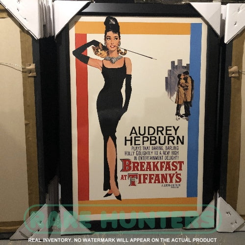 Actual Inventory - Breakfast at Tiffany's Framed Movie Poster