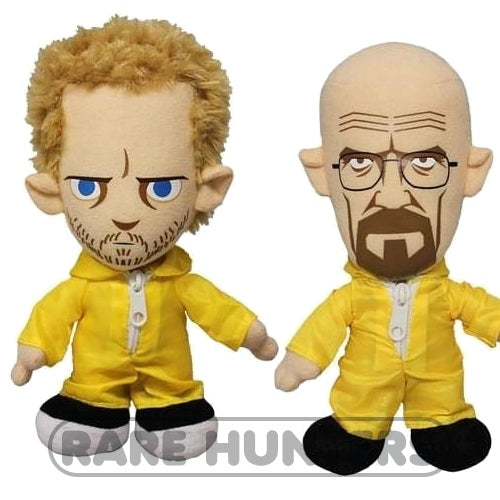 Breaking Bad 8-Inch Plush Set: Jesse Pinkman & Walter White 'Heisenberg'