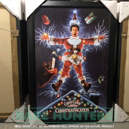 Actual Inventory - National Lampoon's Christmas Vacation Framed Movie Poster