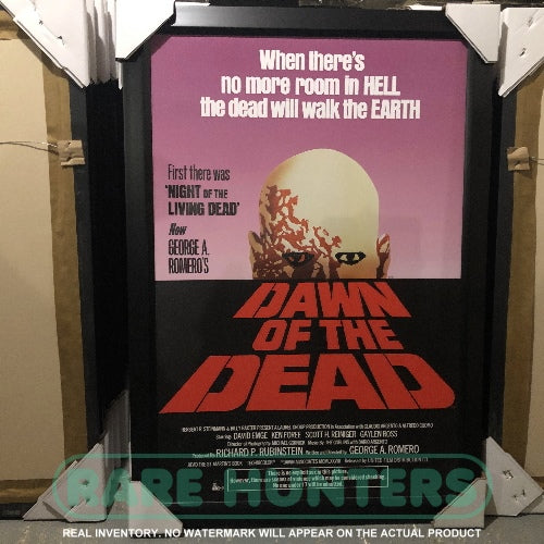 Actual Inventory - Dawn of the Dead Framed Movie Poster