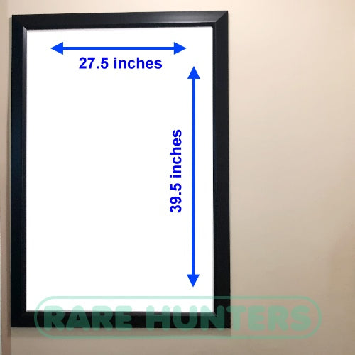 Framed Movie Poster Dimensions