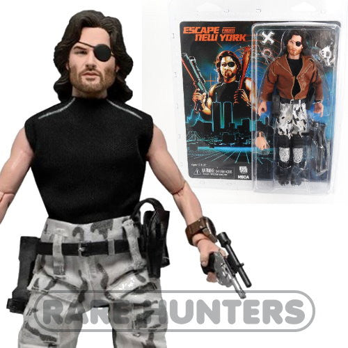NECA Escape from New York Snake Plissken 8-Inch Retro Clothed Action Figure