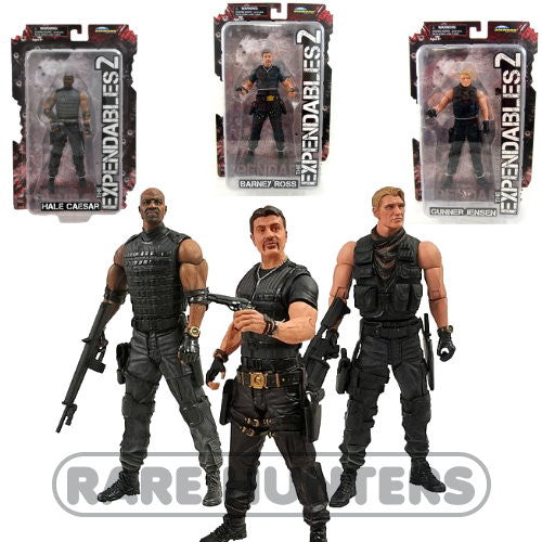 The Expendables Set from Rare Hunters