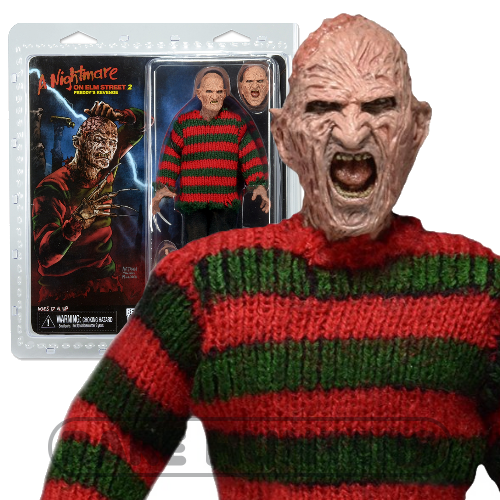 NECA Nightmare on Elm Street 8-Inch Clothed Figure  Freddy Krueger Part 2